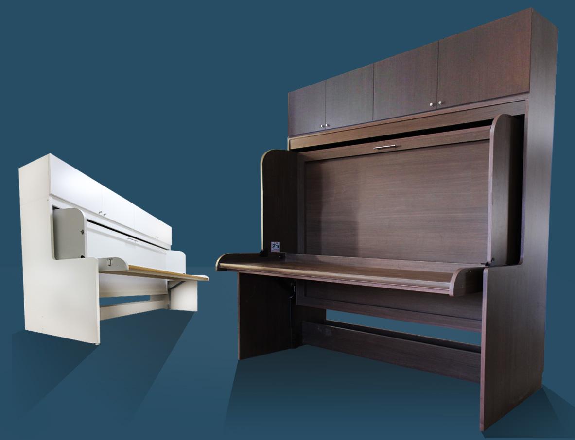 idbed id-wall|ベッドがデスクに変わる。スペースと時間を有効活用する